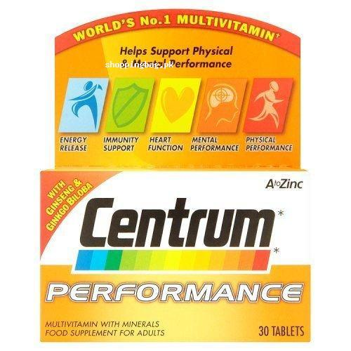 Centrum Performance A To Zinc 30 Tablets Price In Pakistan