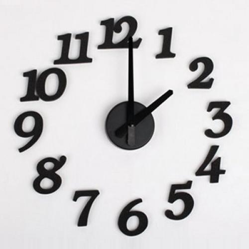 Digit Wall Clock custom wall clock Clock past on wall Online