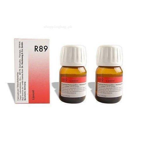 R89 Hair Care Drops by Dr  Reckeweg Germany