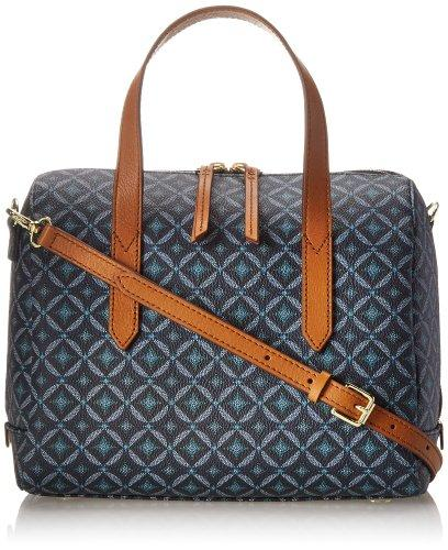 Fossil Sydney Printed Pvc Satchel Handbag Available In Stan Request For Call