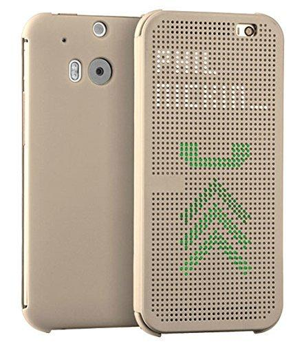 meet 306c9 25606 HTC ONE M8 Case with Slim Dot View