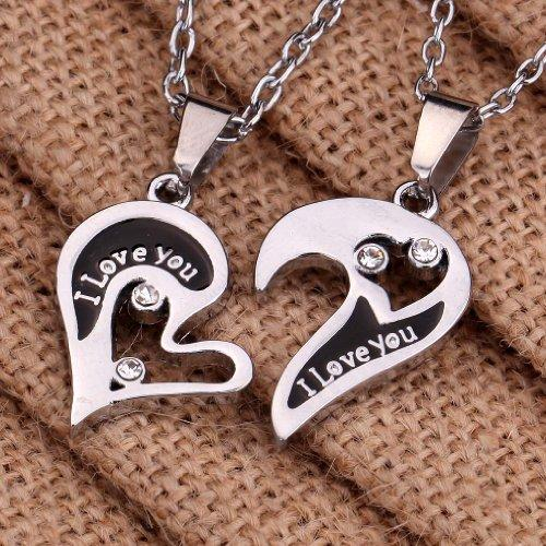 I love you stainless steel pendant necklace men women online i love you stainless steel pendant necklace men women online shopping in pakistan mozeypictures Choice Image