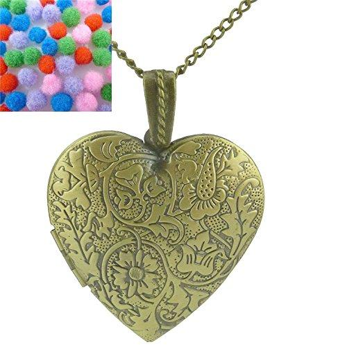 Love heart necklace with locket picture online shopping in pakistan aloadofball Images