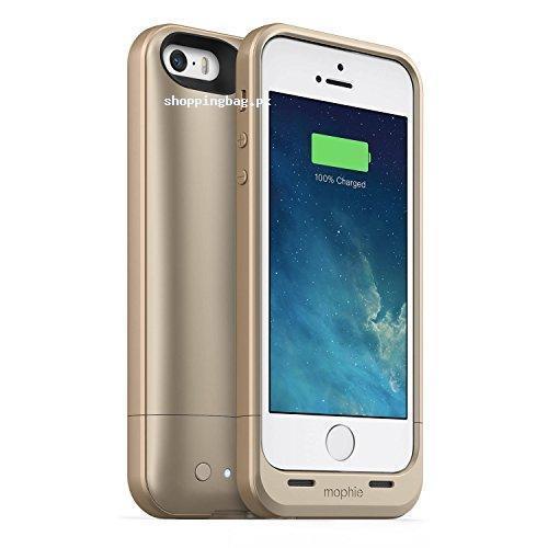 iPhone 5/5s/5se Rechargeable Lithium Battery and Protective Case by mophie