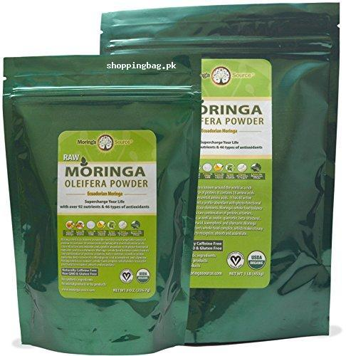 Moringa Oleifera Leaf Powder Half Lb For Whole Body Price