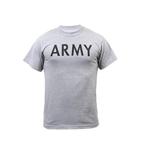 New Grey ARMY T-Shirt