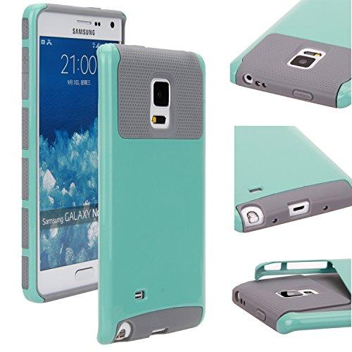 brand new 04598 7ec1d Samsung GALAXY NOTE 4 edge Case Dual Layer Armor Protective Case Cover