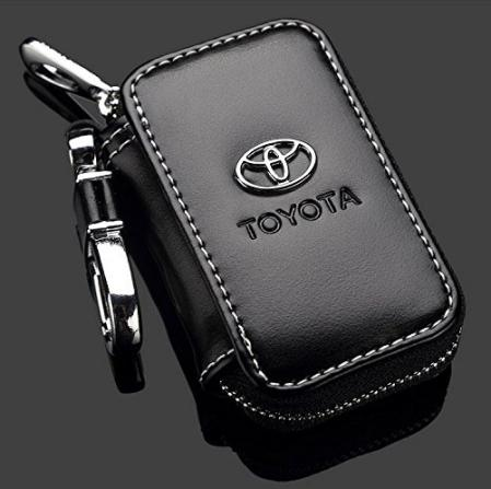 Toyota Black Leather Car Key Chain Wallet Bag Online Shopping In Karachi Lahore Islamabad