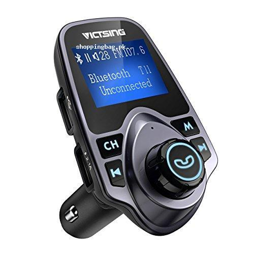 409afdf158e90a VicTsing Bluetooth FM Transmitter Radio Adapter Car Kit Price in ...