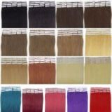 Hair Extensions 17 Color Tape