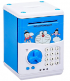 Doraemon Baby Atm Machine Coin Deposit Box