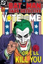 Batman Joker Vote for Me Poster