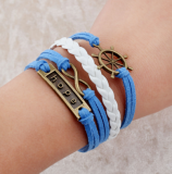 Hope Ship Bracelet for women