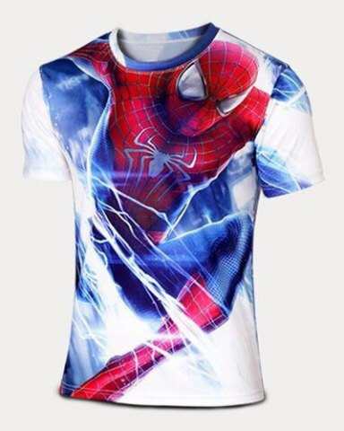 Spider-Man T-Shirt W…