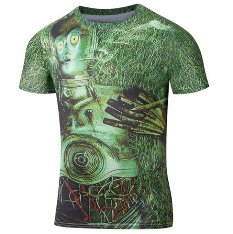 Men Fashion Robot Ro…