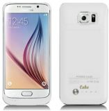 Samsung Galaxy S6 Edge White Battery Charger Case