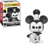 Funko Steamboat Willie Mickey Mouse: Mickey's 90th Anniversary x POP! Disney Vinyl Figure & 1 PET Plastic Graphical Protector Bundle [#425 / 32182 - B]