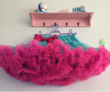 Fluffy Chiffon Dance Party Baby Girls Pettiskirts Skirts