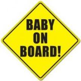Baby On Board Car Sticker for Baby Safety