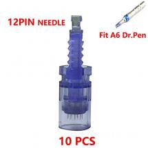 Tattoo Cartridges Fit For Permanent Tattoo A6 Blue 12Pi Replacement Parts Bayonet Coupling