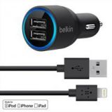 Belkin Apple Dual USB Car Charger for iPhone 6