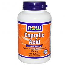 NOW Foods Caprylic Acid 100 Softgel…