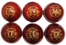 Club Play Leather Cricket Ball Pack