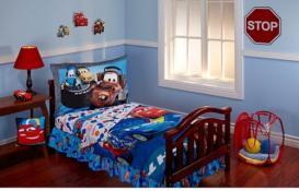 Disney Cars Max Rev 10-piece Toddler Bed