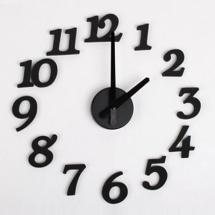 DIY Design Digit Wall Clock