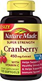 Nature Made Super Strength Cranberry Plus V…