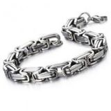 Felix Perry Masculine Style Stainless Steel Bracelet for Men