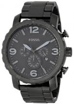 Men s Stainless Steel Watch Black of Fossil