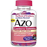 AZO Cranberry Gummies, Daily Urinary Health…