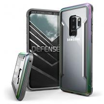 Galaxy S9 Plus Aluminum Frame Case Transparent & Shockproof Sleek Design