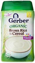 Gerber Baby Cereal O…
