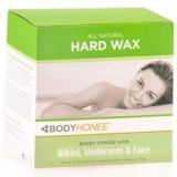 Hard Wax Kit by BodyHonee for Face, Underarms & Bikini Hair Remover