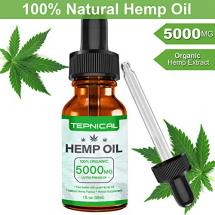 Tepnical Hemp Oil for Pain, Anxiety & Stress Relief