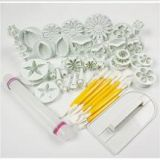 Cake Decorating Tools with Cookie Mould Icing Plunger Cutter Tool