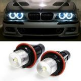 iJDMTOY 7000K White Ring Marker LED Bulbs for BMW 5 6 7 Series X3 X5