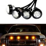 iJDMTOY 3000K Amber LED Lights For Chevy Dodge Ford Truck