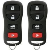 KeylessOption Keyless Remote Control Car Key Chain