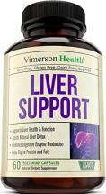 Liver Health Capsules for LIver Cleanse & Detox by Vimerson Health