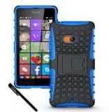 Microsoft Lumia 540 Blue Dual Layer Protective Case