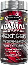 MuscleTech Hydroxycut Hardcore Next Gen Weight Loss 100 Capsules
