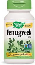 Nature's Way Fenugreek Seed for Stomach 100 Capsules