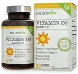 NatureWise Vitamin D3 5000 IU for Healthy Muscle and Bone