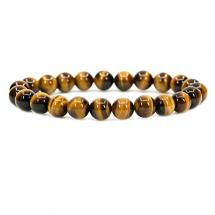 Handmade Golden Tiger Eye Gemstone Bracelet