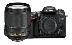 Nikon Camera D7200 DX-format CMOS DSLR w/18-140mm VR Lens