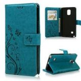 MOLLYCOOCLE Samsung Galaxy Note 4 Leather Case