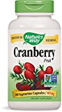 Nature's Way Cranberry Fruit, 180 Vcaps